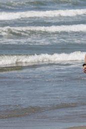 Elisabetta Gregoraci in a Bikini at a Beach in Forte Dei Miami 06/21/2020