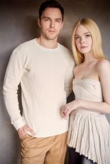 Elle Fanning and Nicholas Hoult - Emmy Magazine May 2020 Issue