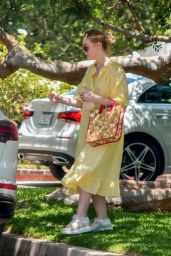 Elle Fanning – Birthday Party in Studio City 06/15/2020