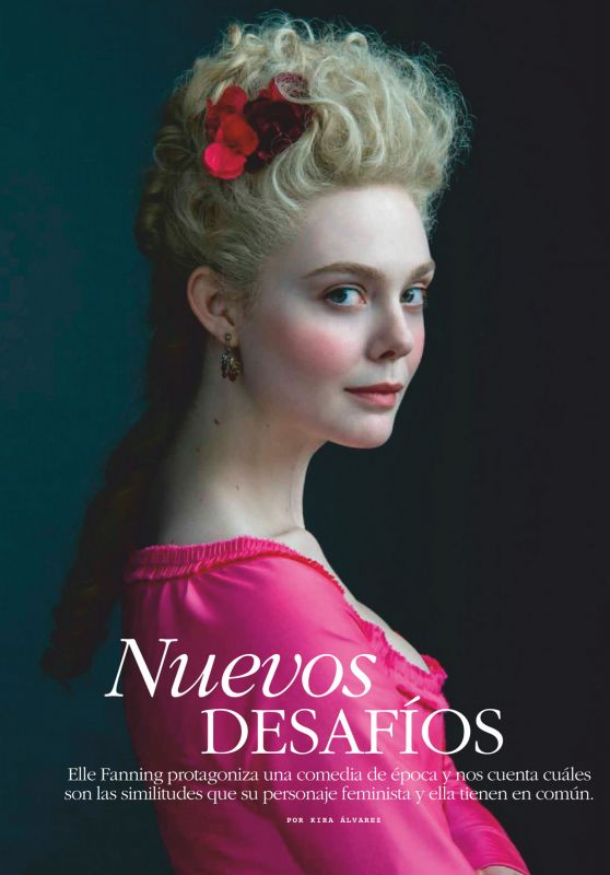 Elle Fanning - Marie Claire Mexico June 2020 Issue