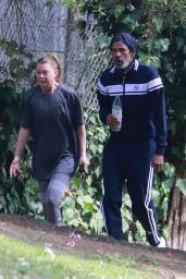 Ellen Pompeo Goes For a Hike in Los Feliz 06/23/2020