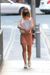 Emily Ratajkowski in Summer Dress - New York 06/25/2020
