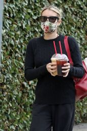 Emma Roberts - Getting Coffee in Los Angeles 06/05/2020