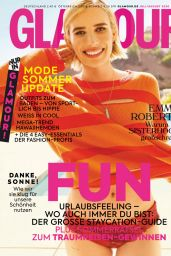 Emma Roberts - Glamour Germany July/August 2020 Issue