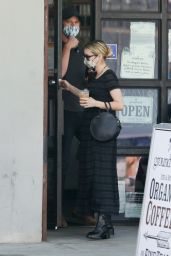 Emma Roberts - Out in Larchmont Village in Los Angeles 06/06/2020