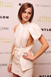 """Emma Watson - """"The Perks Of Being A Wall Flower"""" Screening in NYC"""