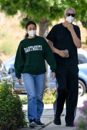 Emmy Rossum - Out at Toluca Lake 05/31/2020