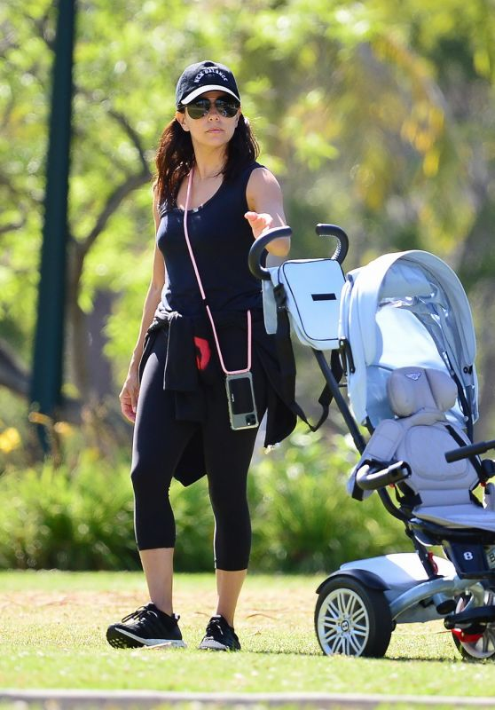 Eva Longoria at the Park in Beverly Hills 06/08/2020