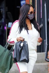 Garcelle Beauvais in Casual Outfit 06/18/2020