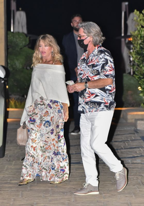 Goldie Hawn Night Out Style - Malibu 06/10/2020