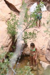 Hailey Bieber in a Bikini - Camping Trip in Utah 06/06/2020
