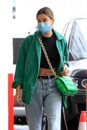 Hailey Bieber in Street Outfit - Beverly Hills 06/18/2020