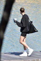 Hailey Rhode Bieber and Bella Hadid on a Yacht in Sardinia, 06/23/2020