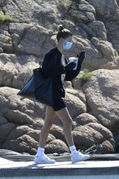 Hailey Rhode Bieber on a Yacht in Sardinia 06/23/2020