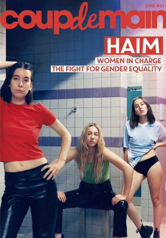 Haim - Coup de Main Magazine July 2020 Cover