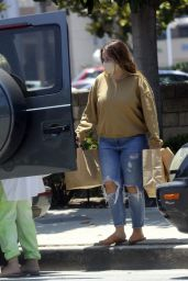 Haylie Duff in Casual Outfit - Out in Studio City 06/23/2020