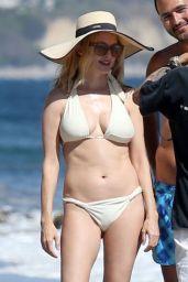 Heather Graham in a Bikini - Beach in Malibu 06/08/2020