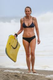 Helen Hunt in a Bikini - Beach in Malibu 06/07/2020