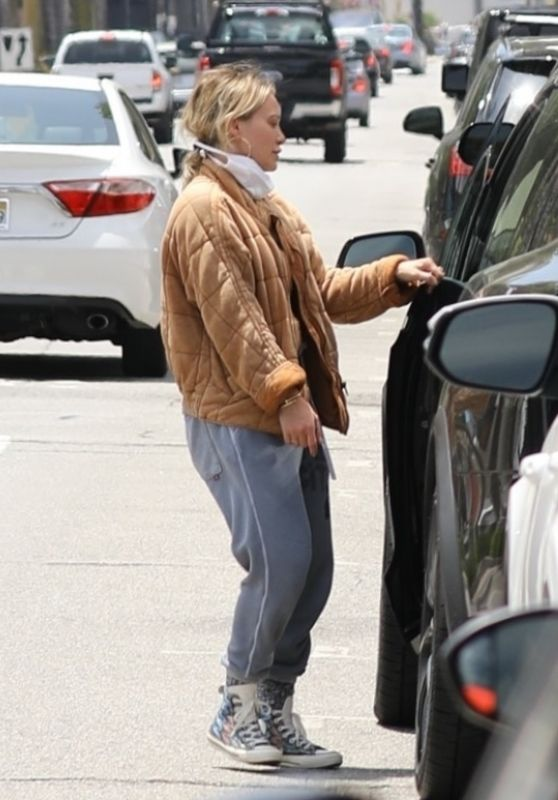 Hilary Duff - Out in Los Angeles 06/18/2020