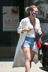 Hilary Duff Wearing a Pair of Daisy Dukes - Los Angeles 06/03/2020