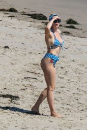 Ireland Baldwin in a Bikini - Beach in Malibu 06/27/2020