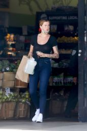 Ireland Baldwin in a Sheer Top and Tight Jeans - LA 06/19/2020