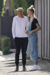 Ireland Baldwin - Out in West Hollywood 06/20/2020