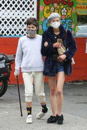 Jaime King and Selma Blair - Out in LA 06/18/2020