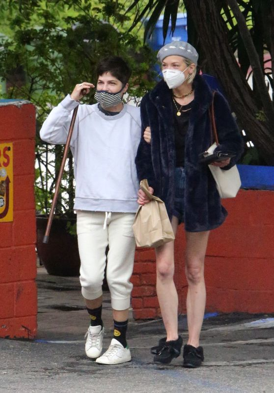 Jaime King and Selma Blair - Out in LA 06/18/2020