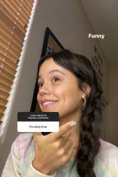 Jenna Ortega - Social Media Photos and Videos 06/30/2020