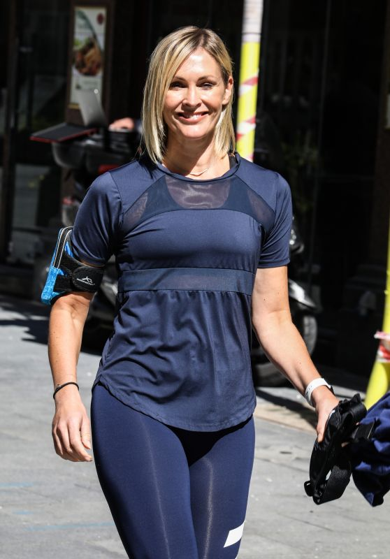 Jenni Falconer - Out in London 06/22/2020
