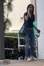 Jordana Brewster - Out For Coffee in Brentwood 06/06/2020