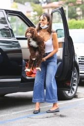 Jordana Brewster - Out in Brentwood 06/20/2020