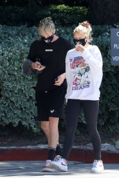 Josie Canseco and Logan Paul Heads to the Gym in Encino 06/25/2020
