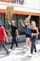 Josie Canseco - Protesting in Hollywood 06/02/2020
