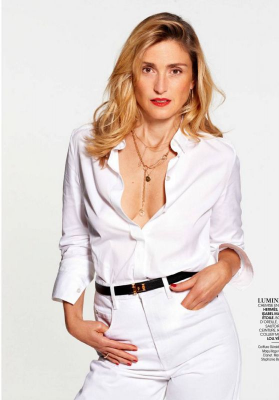 Julie Gayet - Madame Figaro 06/19/2020 Issue