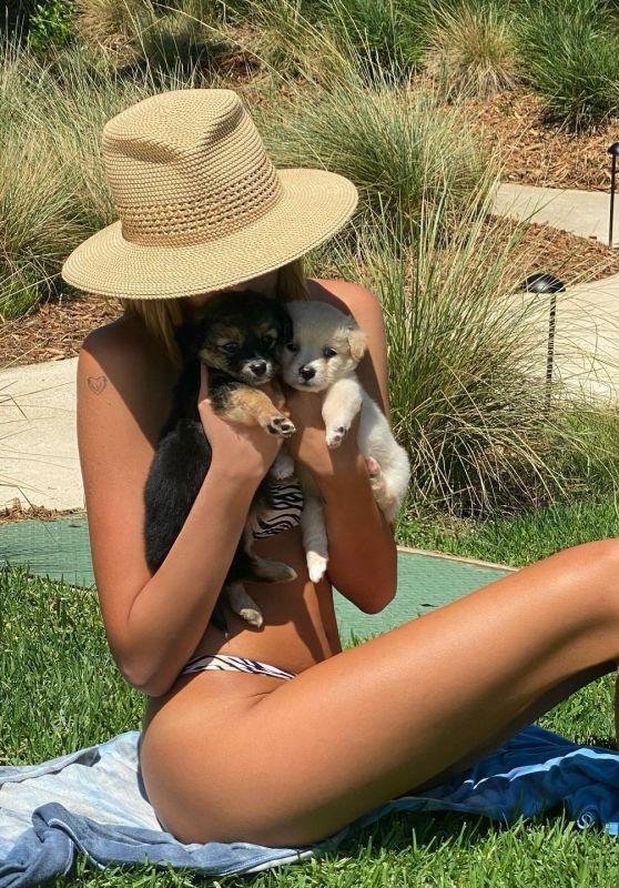 Kaia Gerber in a Bikini - Social Media Photos 06/28/2020