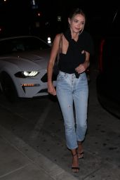 Kaitlynn Carter Night Out Style - Catch Restaurant in West Hollywood 06/13/2020