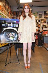 """Karen Gillan - """"Doctor Who"""" DVD Signing in LA"""