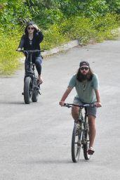 Kate Hudson - Bike Riding in Malibu 06/06/2020