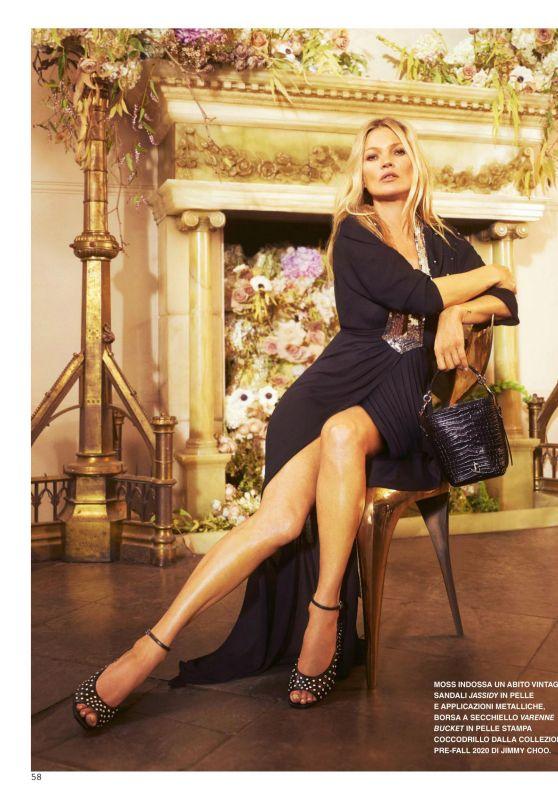Kate Moss – Grazia Magazine Italy 06/11/2020 Issue