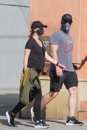 Katherine Schwarzenegger - Out For a Walk in Santa Monica 06/01/2020
