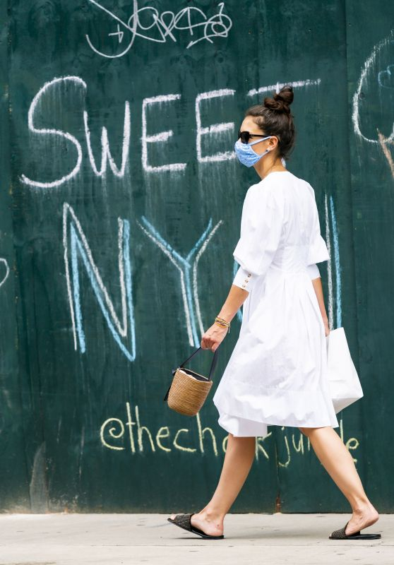 Katie Holmes - Out in New York 06/12/2020
