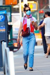 Katie Holmes - Out in NYC 06/10/2020