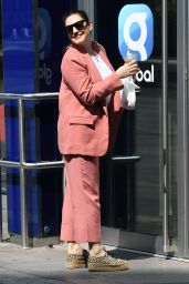Kelly Brook - Arriving at the Global Radio Studios in London 06/23/2020