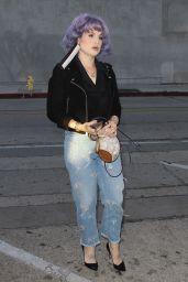 Kelly Osbourne - Arrives for Dinner at Craig