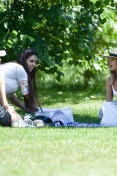 Kimberley Garner in Hyde Park in London 06/06/2020