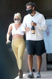 Lady Gaga in Leggings 06/14/2020