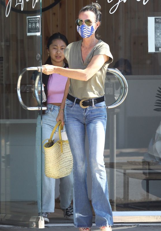 Laeticia Hallyday - Out in Los Angeles 06/27/2020