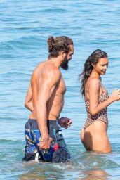 Lais Ribeiro in Animal Print Swimsuit - Malibu 06/27/2020